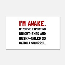 Go Catch Squirrel Car Magnet 20 x 12