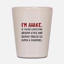 Go Catch Squirrel Shot Glass