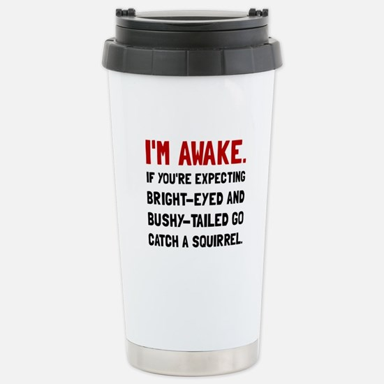 Go Catch Squirrel Travel Mug