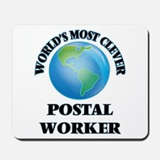 World's Most Clever Postal Worker Mousepad