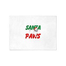 Santa Paws 5'x7'Area Rug