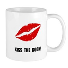 Kiss The Cook Mugs