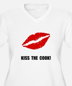 Kiss The Cook Plus Size T-Shirt