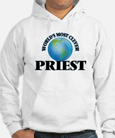 World's Most Clever Priest Hoodie