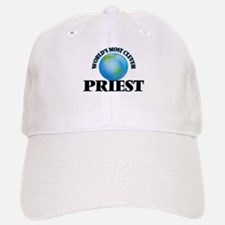 World's Most Clever Priest Baseball Baseball Cap