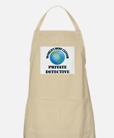World's Most Clever Private Detective Apron