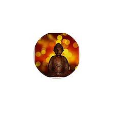 Cute Buddha Mini Button