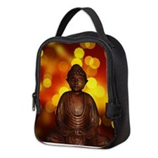 Unique Buddha Neoprene Lunch Bag