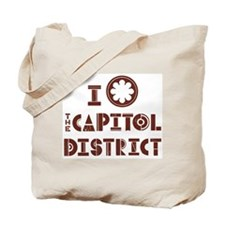 Capitol District - Nashville Tote Bag