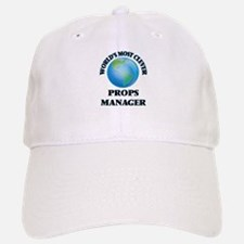 World's Most Clever Props Manager Baseball Baseball Cap