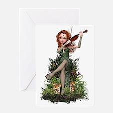 Fairy Siobhán ~ Irish Melody Greeting Cards