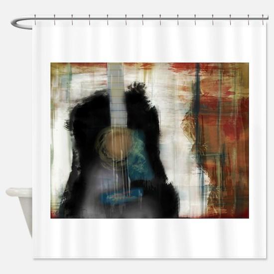 Strum Love Shower Curtain