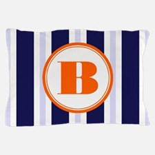 Orange B Monostripe Pillow Case