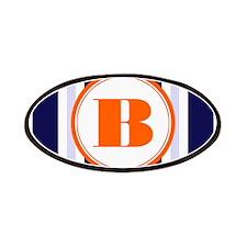Orange B Monostripe Patches