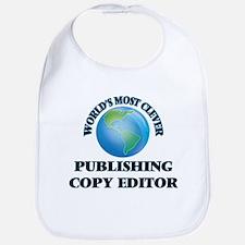 World's Most Clever Publishing Copy Editor Bib