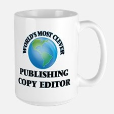 World's Most Clever Publishing Copy Editor Mugs