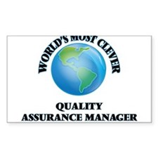 World's Most Clever Quality Assurance Mana Decal