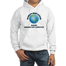 World's Most Clever Radio Broadc Hoodie