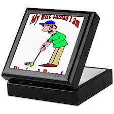 Golf Shirt 1 Keepsake Box