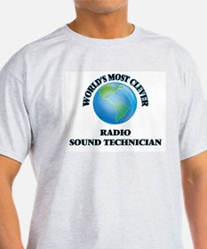World's Most Clever Radio Sound Technician T-Shirt