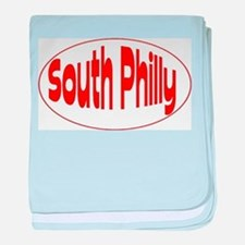 South Philly baby blanket