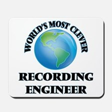 World's Most Clever Recording Engineer Mousepad