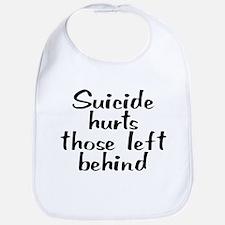 Suicide hurts - Bib