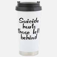 Suicide hurts - Stainless Steel Travel Mug