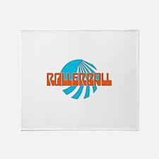 Rollerball Throw Blanket