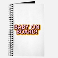 Baby on Board - Pink Journal