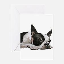 Cute Terrier Greeting Card