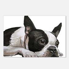 Cute Boston terrier Postcards (Package of 8)