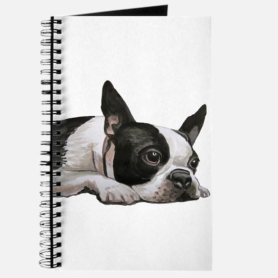 Cute Boston terrier Journal
