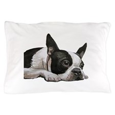 Unique Boston terrier Pillow Case