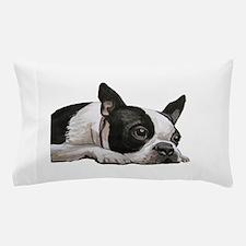 Cute Boston terriers Pillow Case