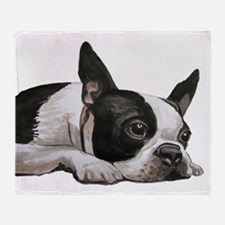 Cute Terrier Throw Blanket