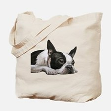 Funny Boston terrier Tote Bag