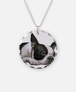 Cute Boston terriers Necklace