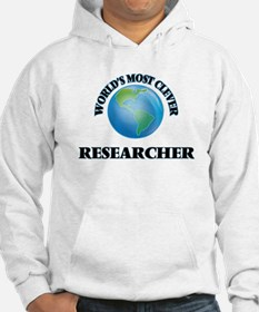 World's Most Clever Researcher Hoodie