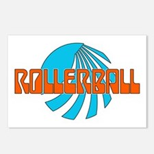 Rollerball Postcards (Package of 8)