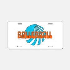 Rollerball Aluminum License Plate