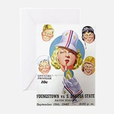 Vintage Youngstown Sports Greeting Cards (Package