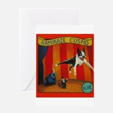 Kamikaze Cosmo Greeting Cards