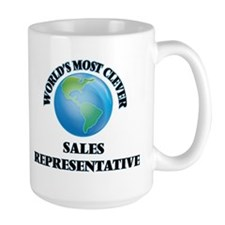 World's Most Clever Sales Representative Mugs
