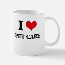 I Love Pet Care Mugs