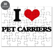 I Love Pet Carriers Puzzle