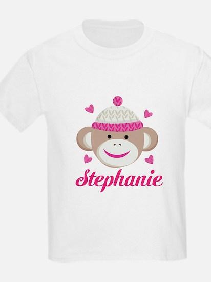 Personalized Sock Monkey T-Shirt