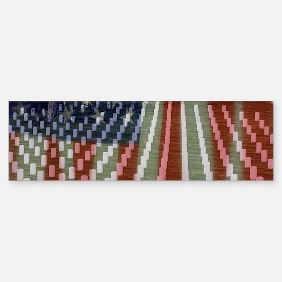 Patriotism Bumper Bumper Bumper Sticker