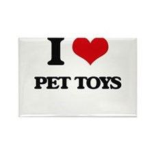 I Love Pet Toys Magnets
