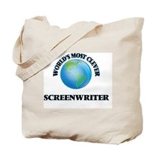 World's Most Clever Screenwriter Tote Bag